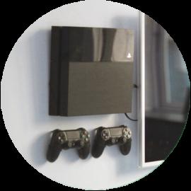 Настенное крепление для PlayStation 4