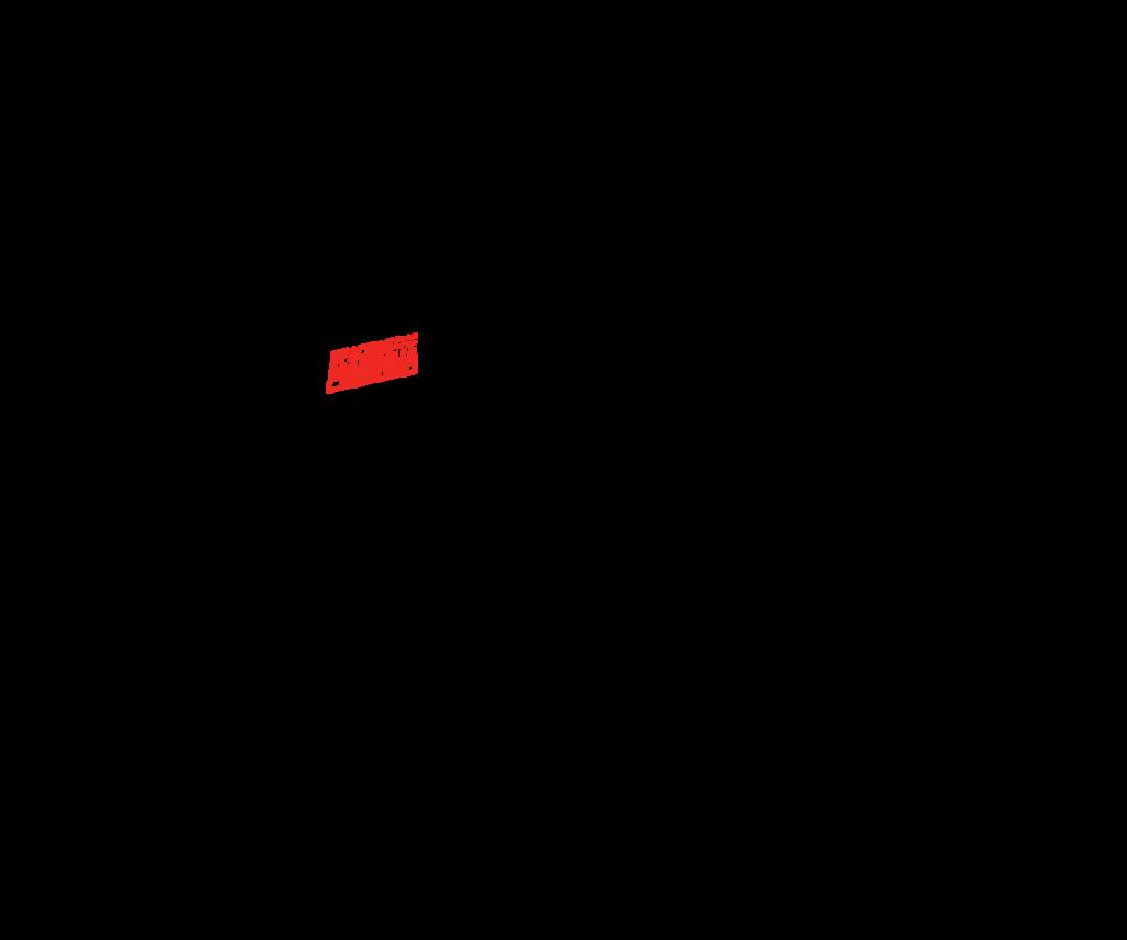 Красная машина  — картинка на тачпад