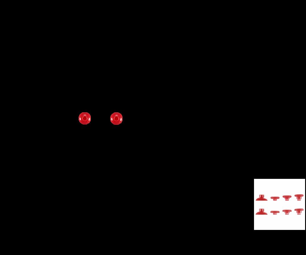 Красный — комплект