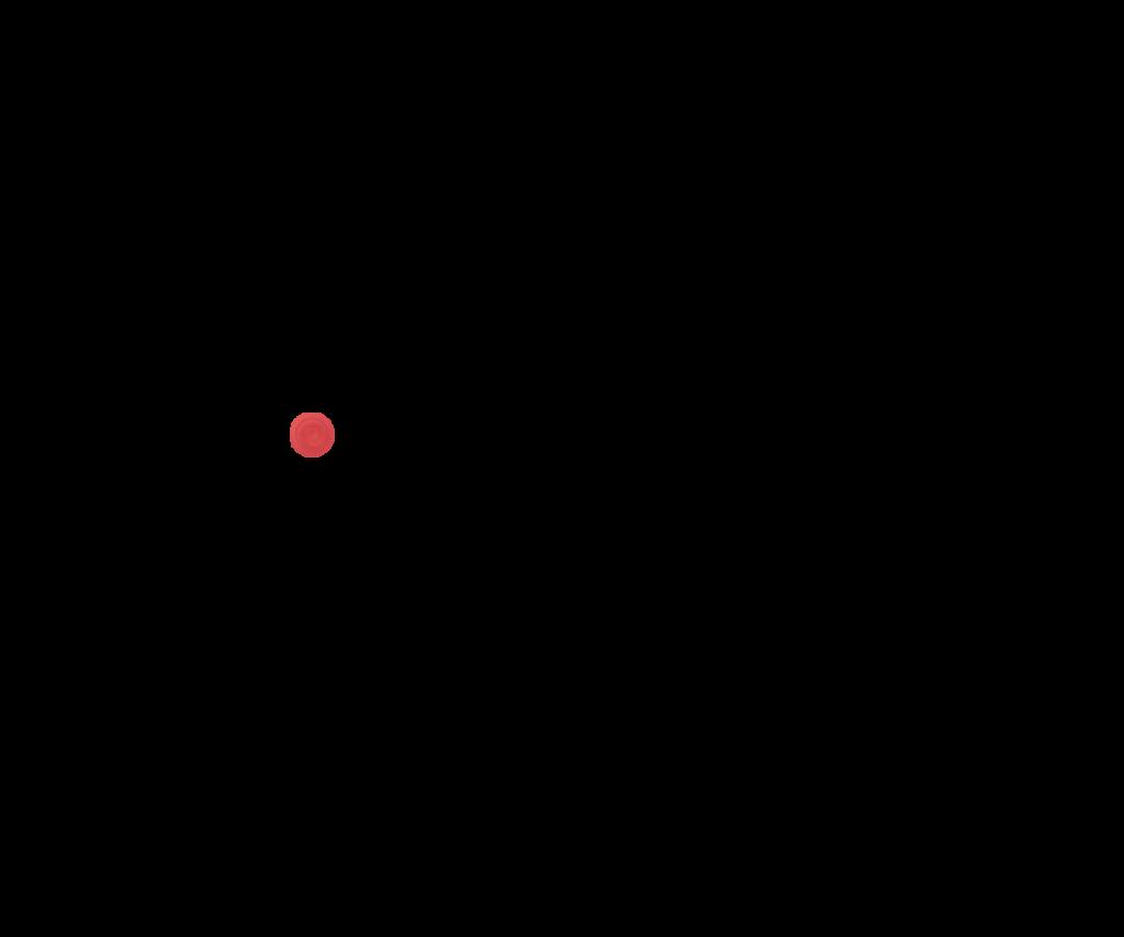 Красный прозрачный