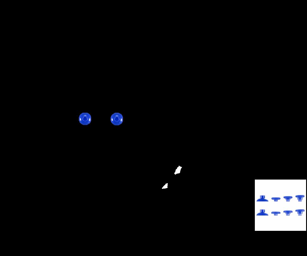 Синий — комплект (НЕТ в НАЛИЧИИ)