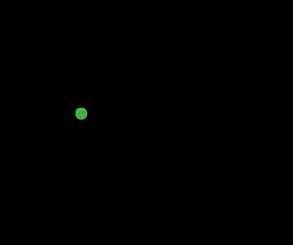 Зеленый прозрачный
