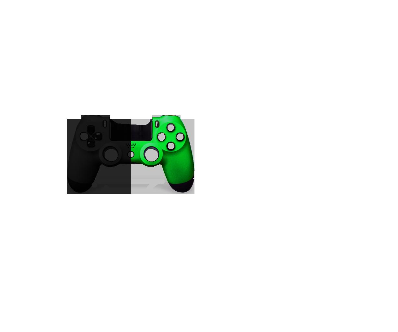 Черная+Зеленая пополам