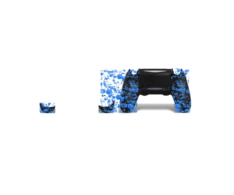 Голубые 3D капли