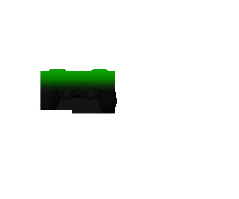 Зеленый и черный — градиент