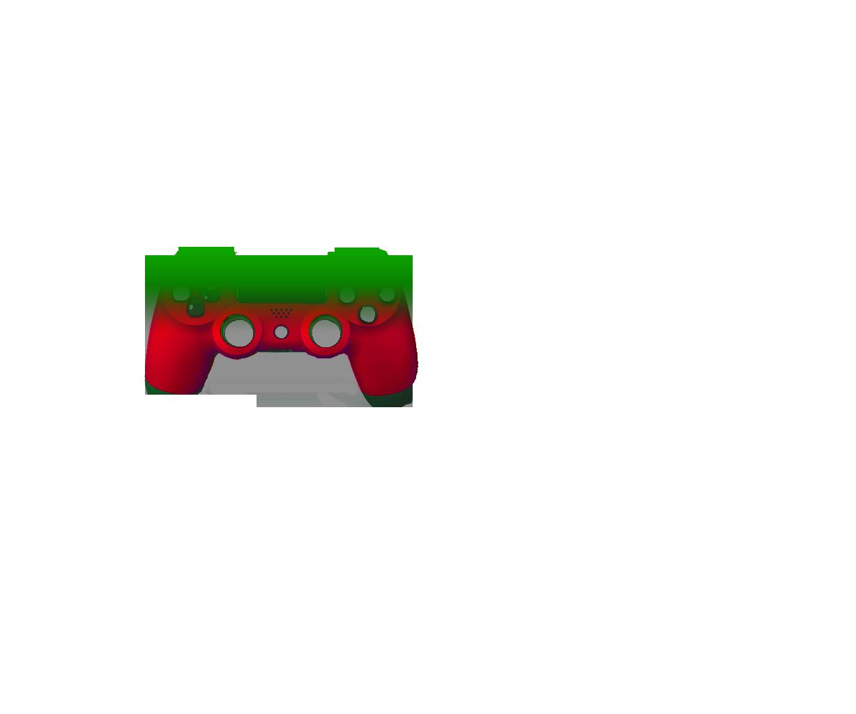 Зеленый и красный — градиент