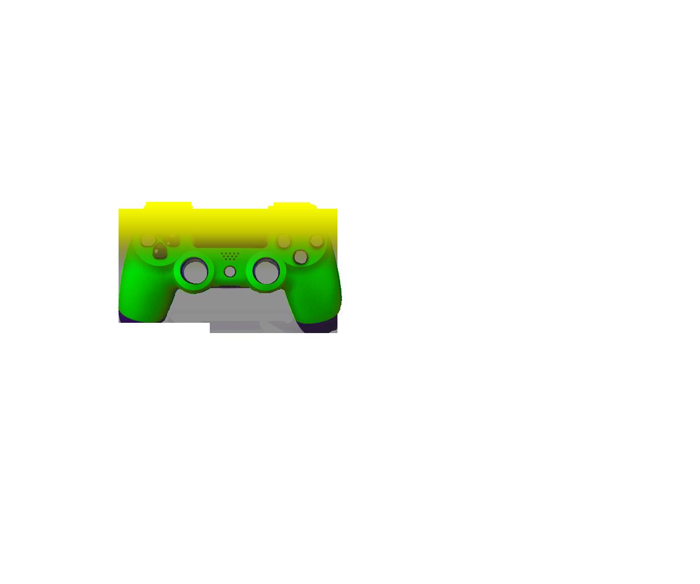 Желтый и зеленый — градиент