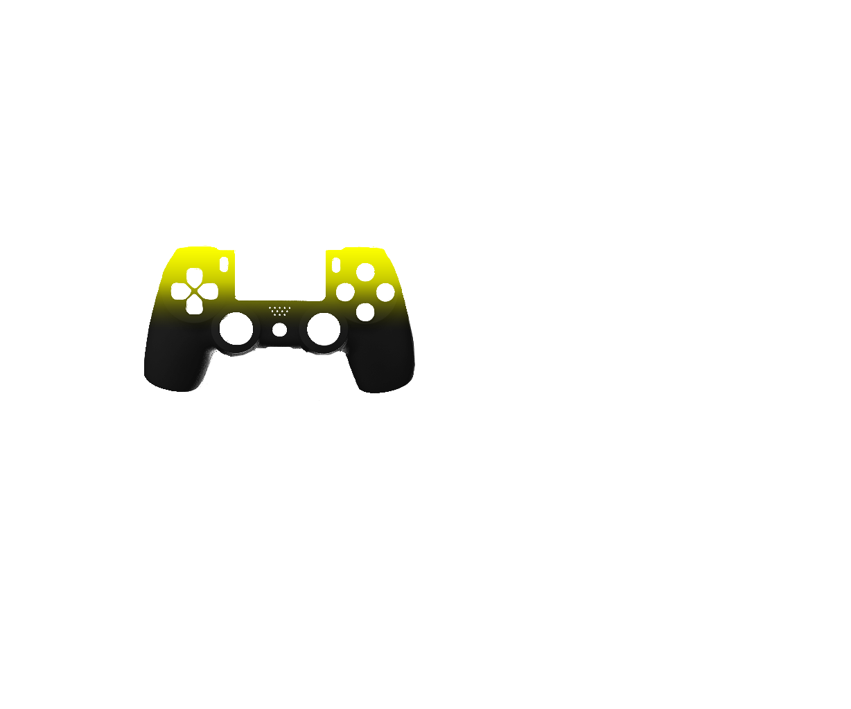 Желтый и черный — градиент