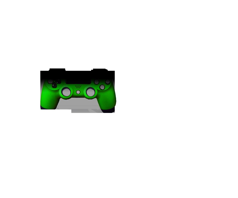Черный и зеленый — градиент