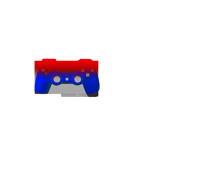 Красный и синий — градиент