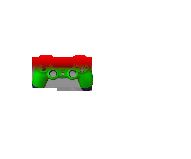 Красная и зеленая- градиент
