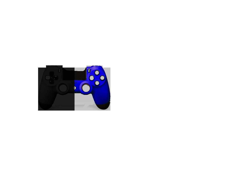 Черная+Синяя пополам