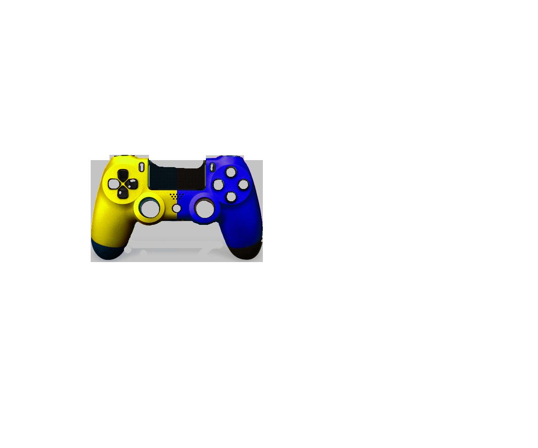 Желтая+Синяя пополам