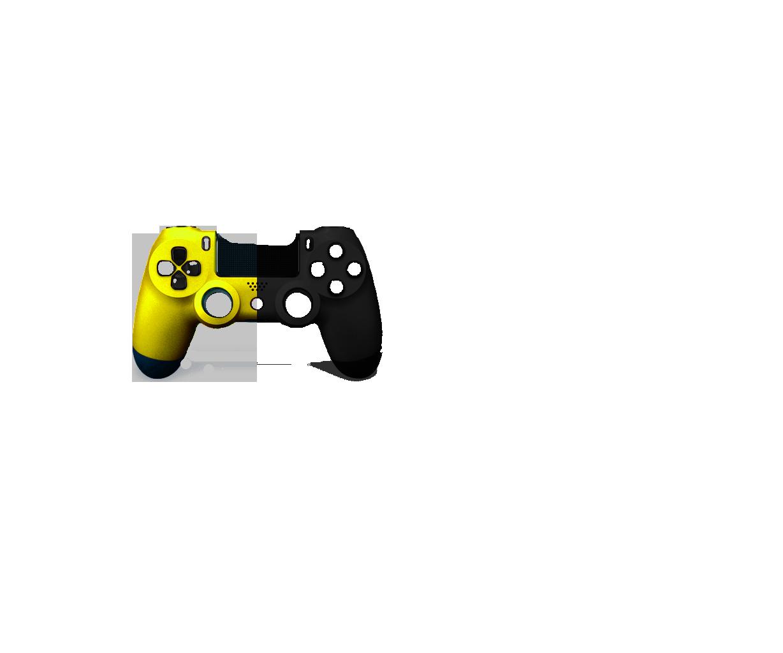 Желтая+Черная пополам
