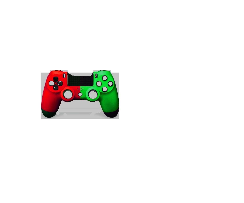 Красная+Зеленая пополам