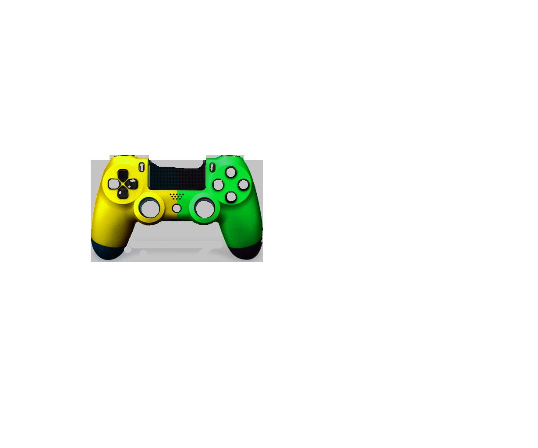 Желтая+Зеленая пополам