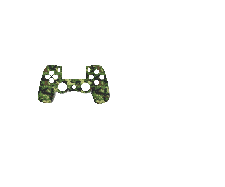 Зеленый камуфляж в квадрат