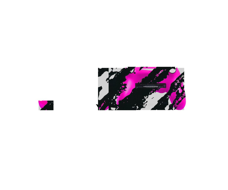 Розово-черный камуфляж