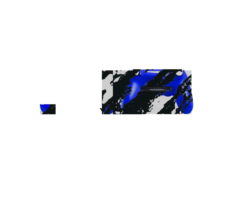 Сине-черный камуфляж