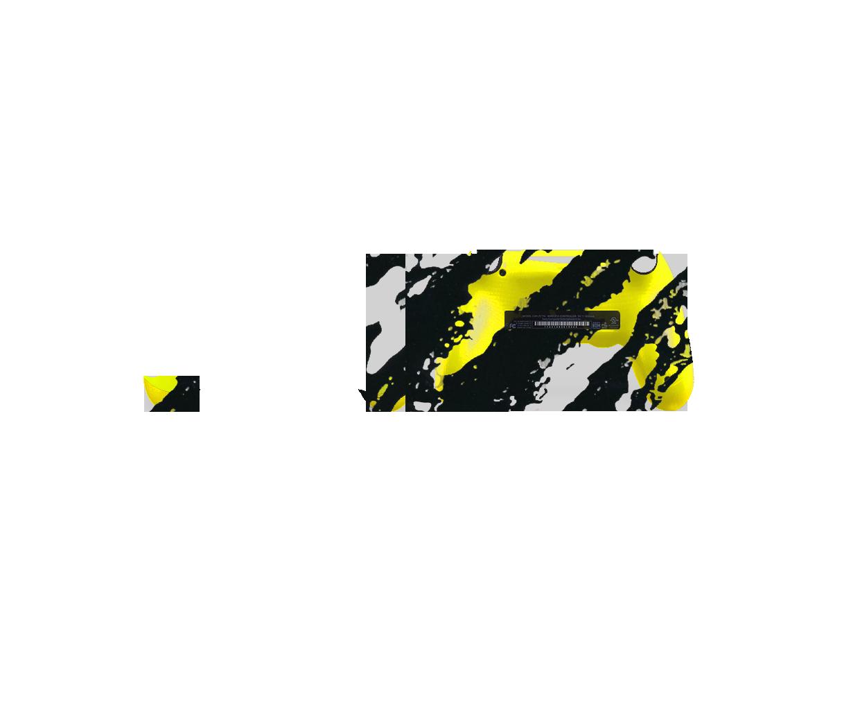 Желто-черный камуфляж