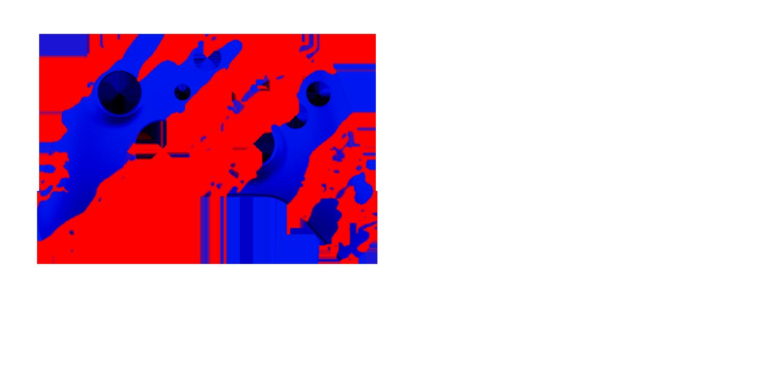 Красно-синий