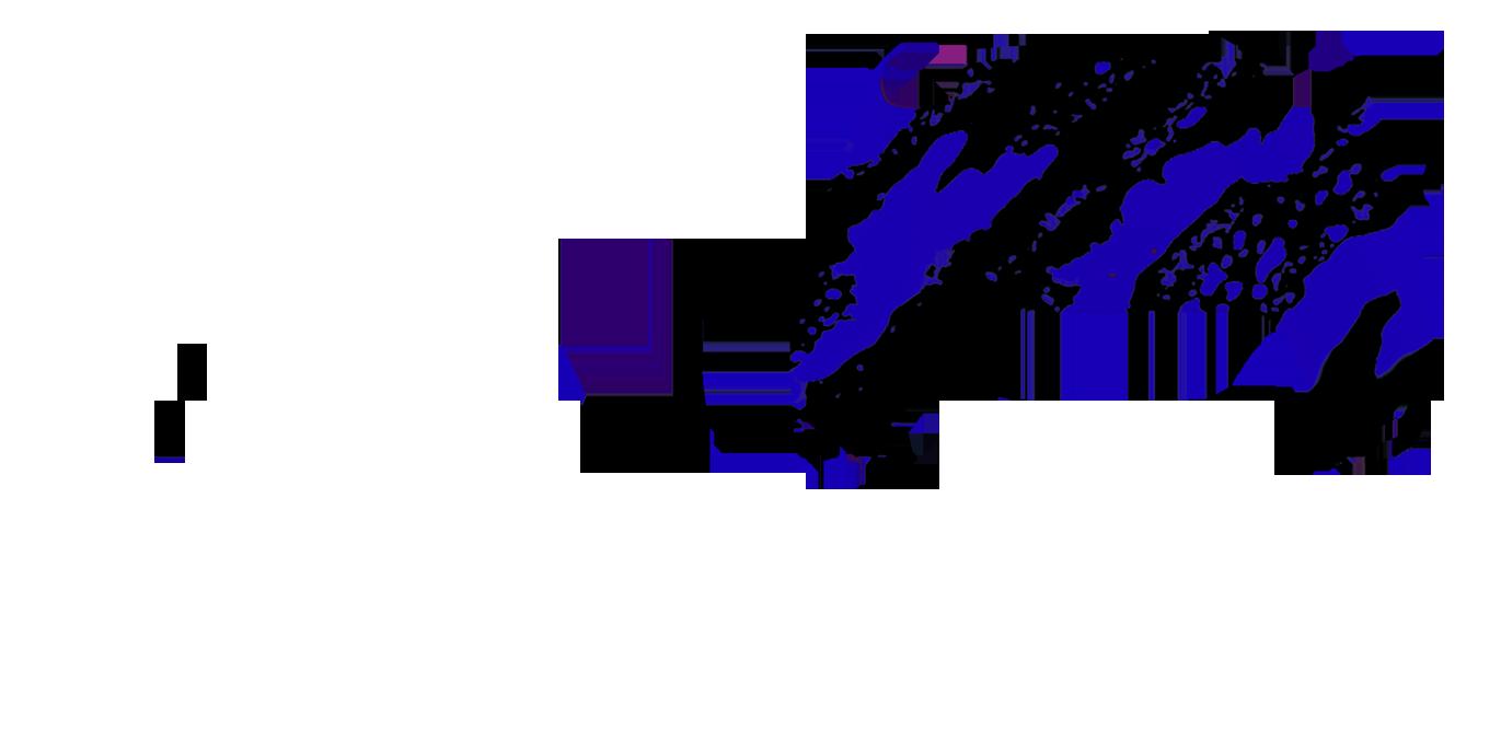 Сине-черный