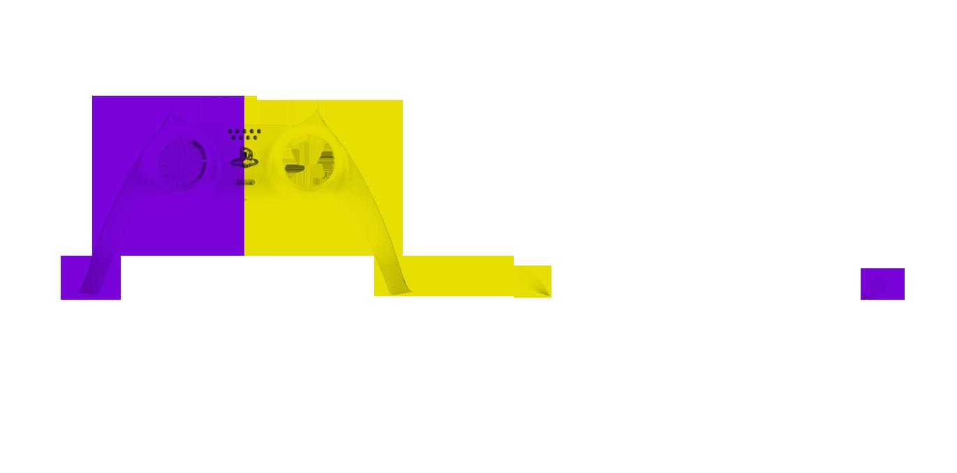 Фиолетово-желтый