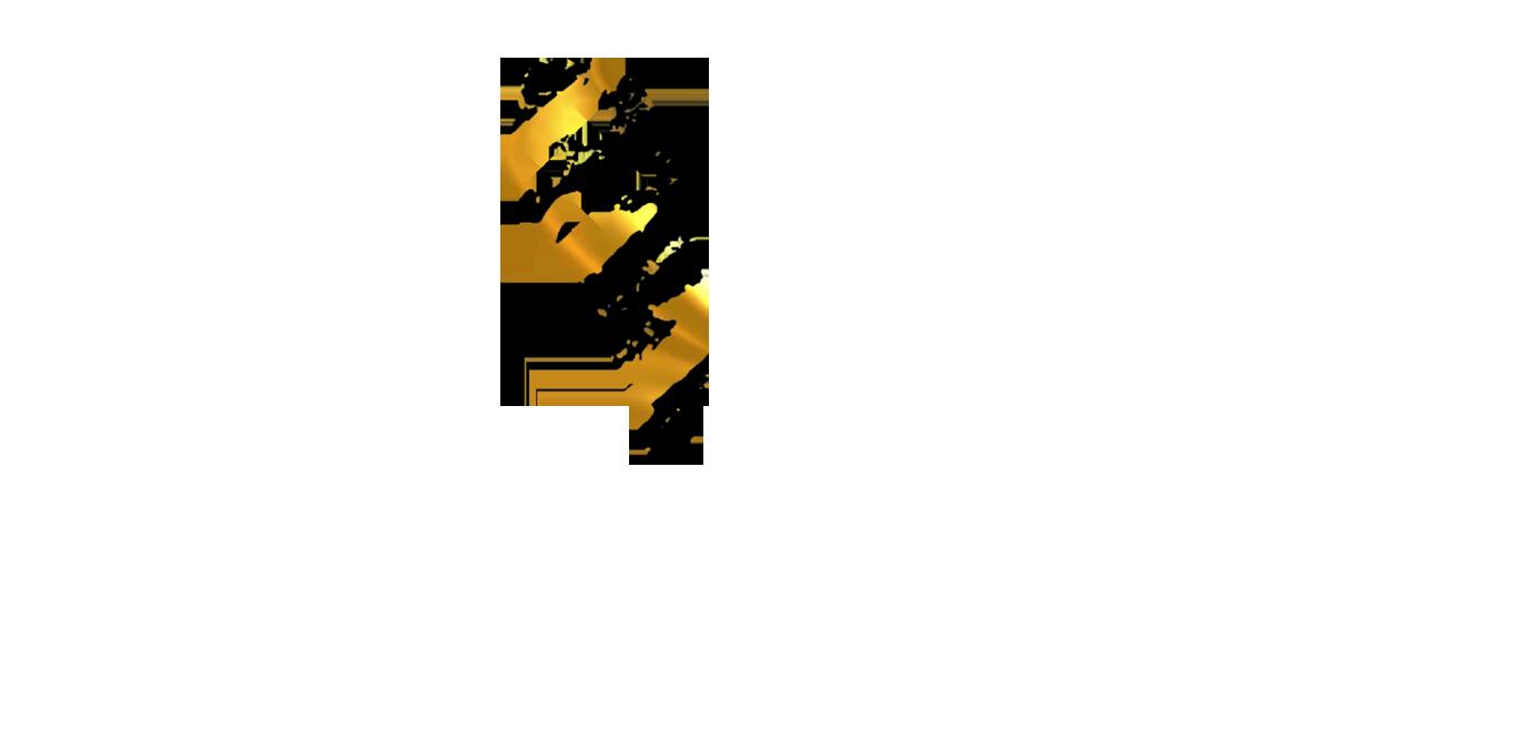 Золото-черный